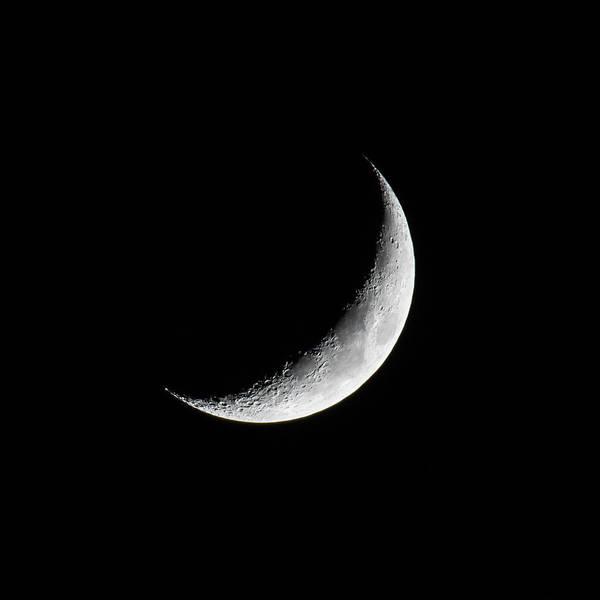 Crescent Moon Poster