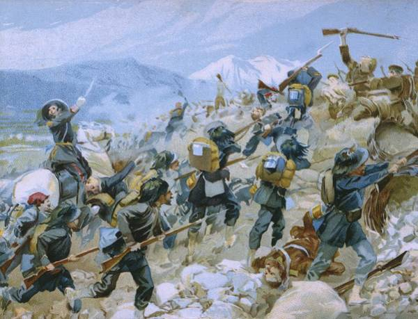 Crimean War And The Battle Of Chernaya Poster