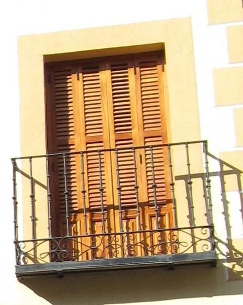 Crooked Window In Toledo Poster
