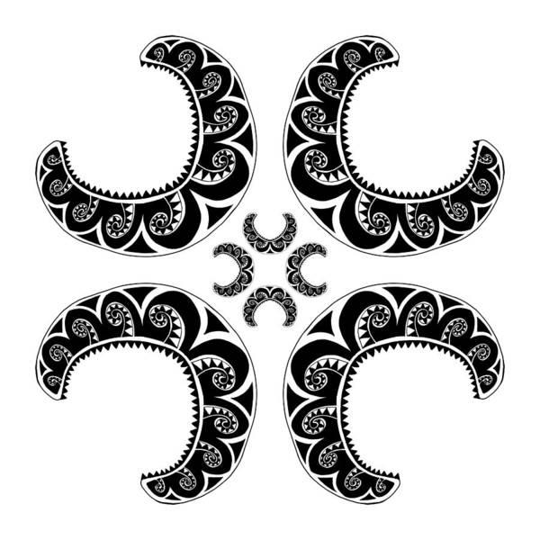 Cross Maori Style Poster