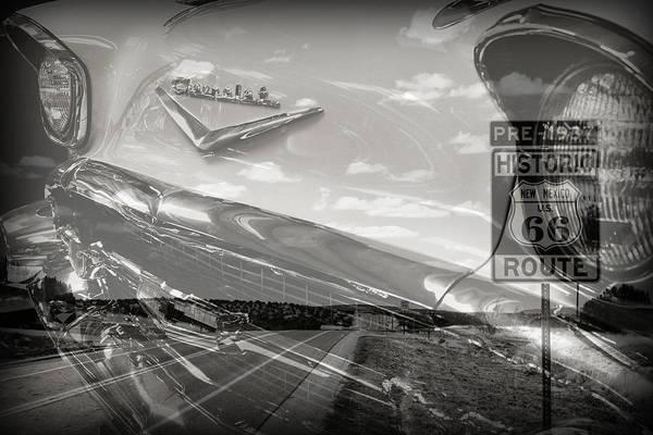 Cruisin Route 66 Poster