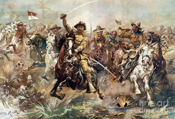 Cuba: Rough Riders, 1898 Poster