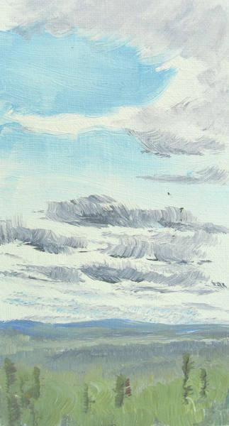 Dagrar Over Salenfjallen- Shifting Daylight Over Distant Horizon 10 Of 10_0029 Poster