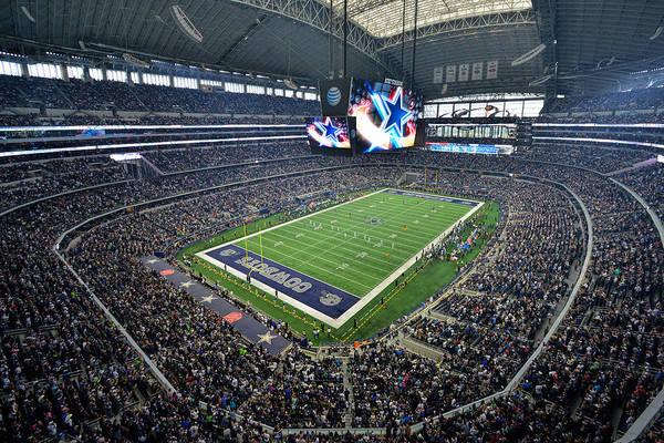 Dallas Cowboys Att Stadium Poster
