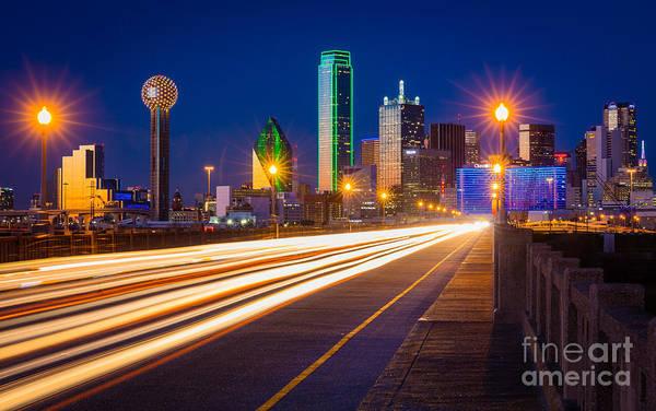 Dallas Lights Poster