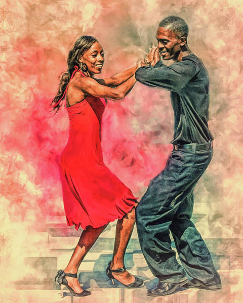 Dancing In The Street Poster