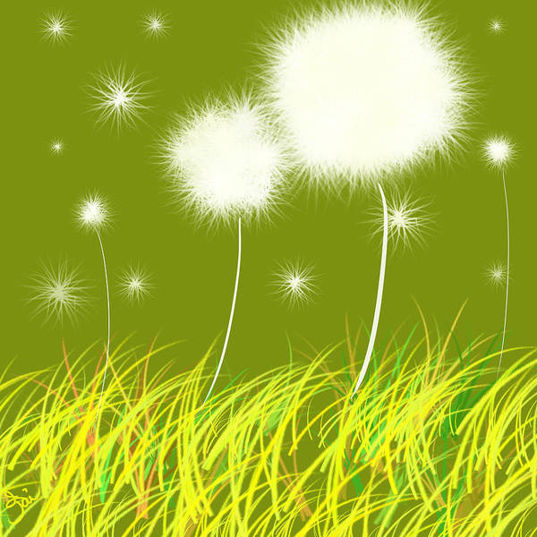 Dandelions Are Free Poster