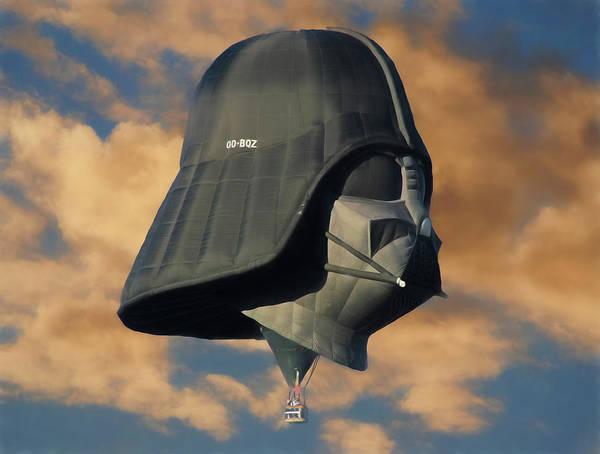 Darth Vader At Sunrise Poster