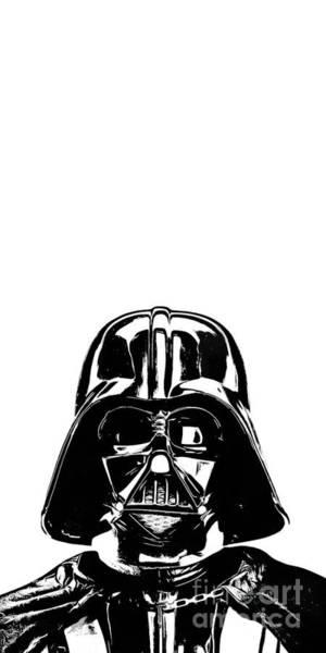 Darth Vader Painting Poster
