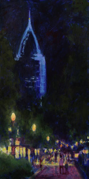 Dauphin Street Art Walk, Mobile, Alabama Poster