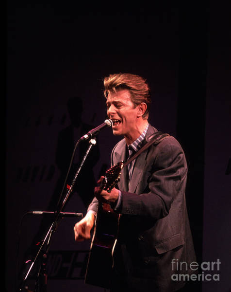 David Bowie 1990 Poster