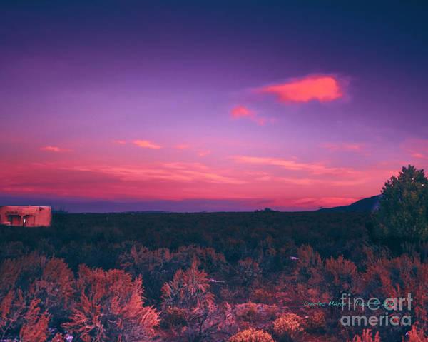 Dawn In Taos Poster