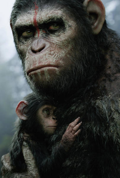 Dawn Of The Planet Of The Apes Poster