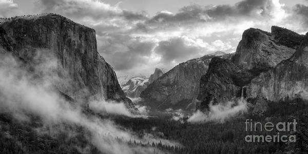 Daybreak Over Yosemite Poster
