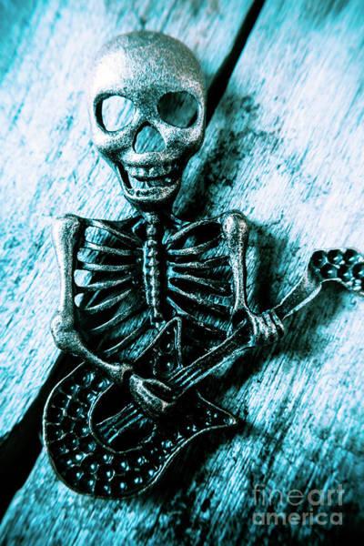 Death Metal Blues Poster