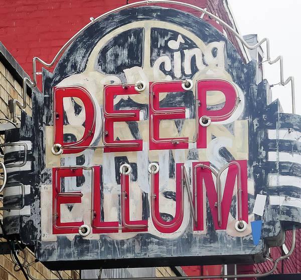 Deep Ellum Dallas Texas Poster