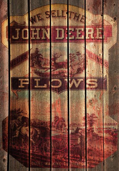 Deere Walking Cultivator Poster