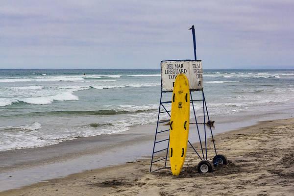 Del Mar Lifeguard Tower Poster