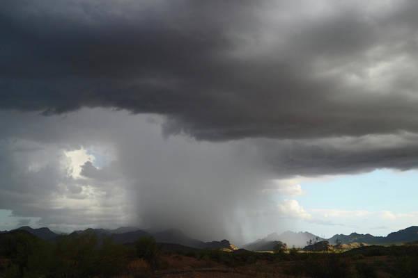 Desert Downpour Poster