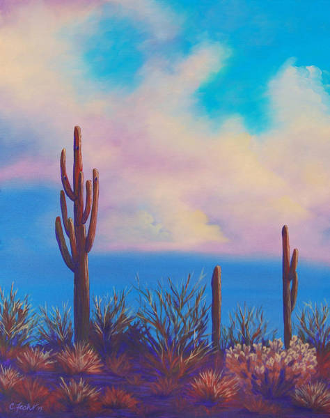 Desert Fog Poster