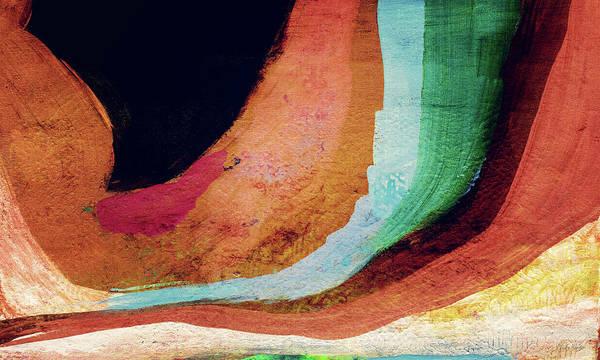 Desert Night-abstract Art By Linda Woods Poster