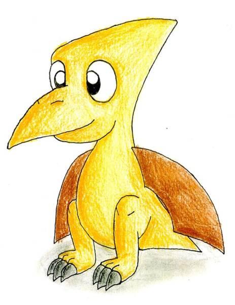 Desmond The Pterodactyl Poster