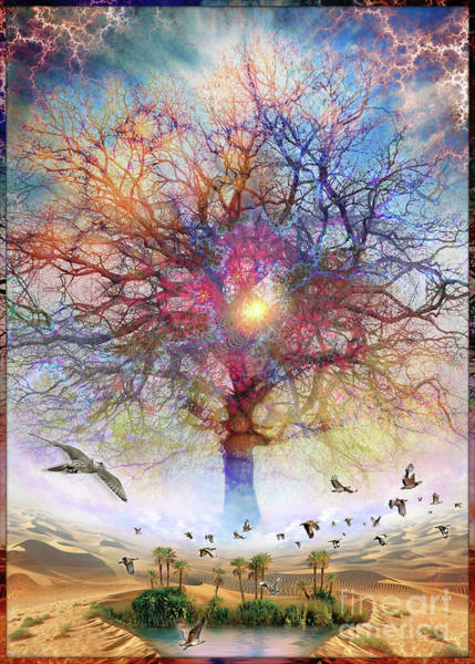 Dessert Of Forgotten Tree Poster
