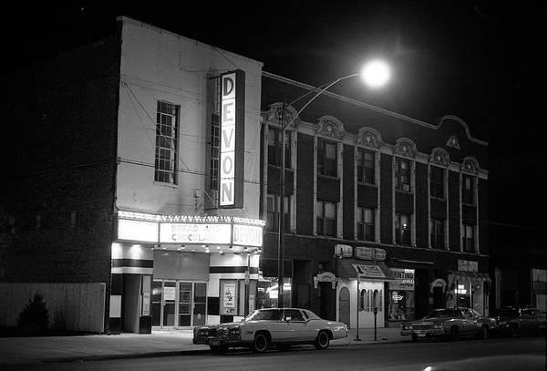 Devon Theatre, 1979 Poster