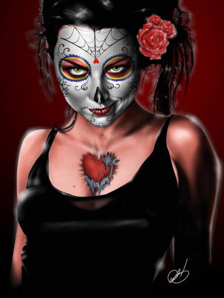 Dia De Los Muertos The Vapors Poster