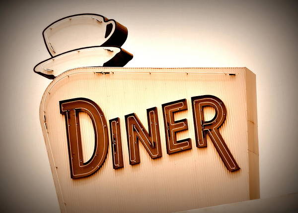 Poster featuring the photograph Diner by Andrea Platt