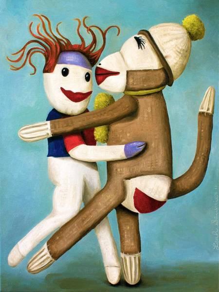 Dirty Socks Dancing The Tango Poster