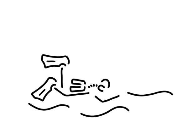 Divers Dip Oxygen Poster