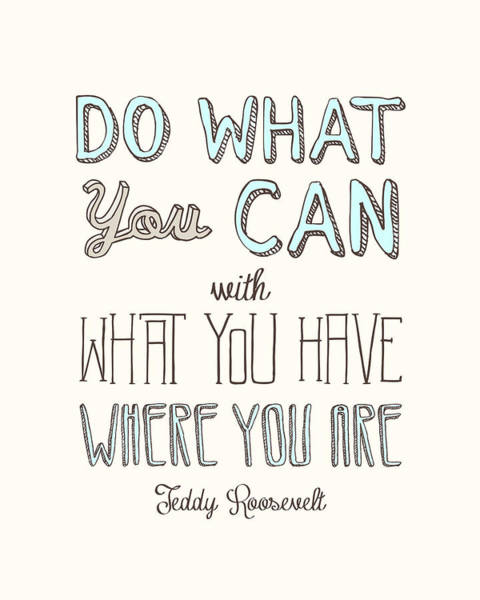 Do What You Can  Poster