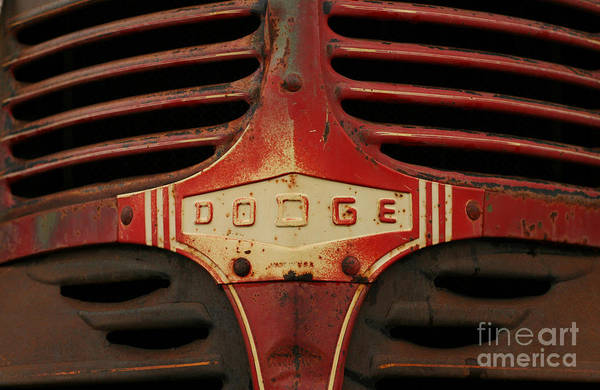 Dodge 41 Grill Poster