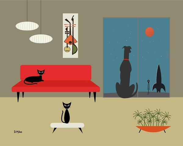 Dog Spies Alien Poster