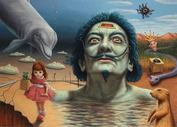 Dolly In Dali-land Poster