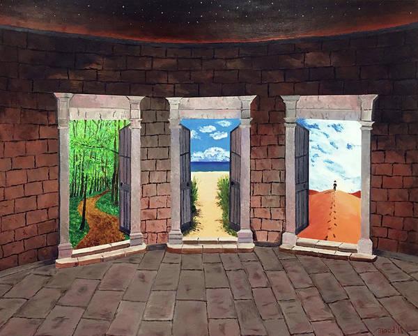 Door Number Three Poster