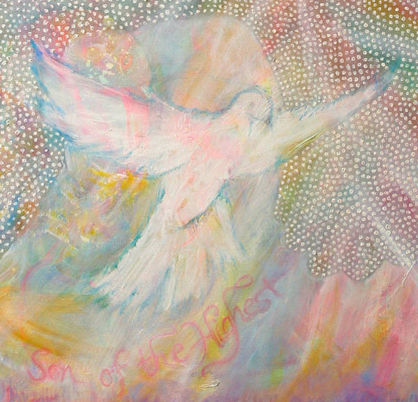 Dove Detail From Immaculate Conception Poster