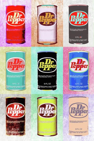 Dr. Pepper Pop Art Print Sort Of Cool Poster