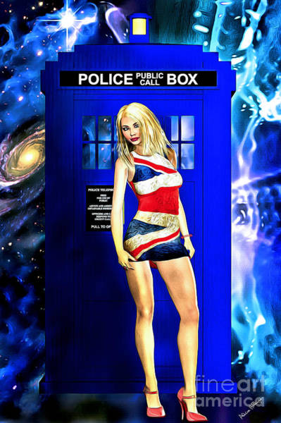 Doctor Who - Tardis And Rose Tyler Poster