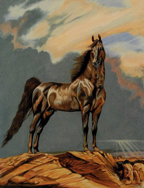 Tango's Daylight - Saddlebred Stallion Poster