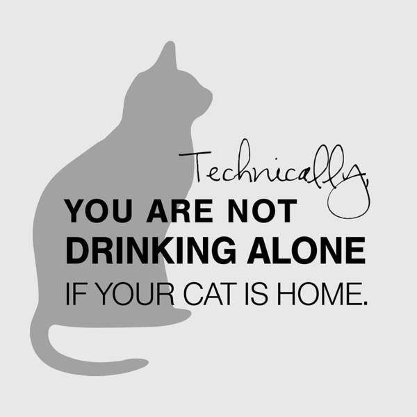 Drinking With Cats Poster