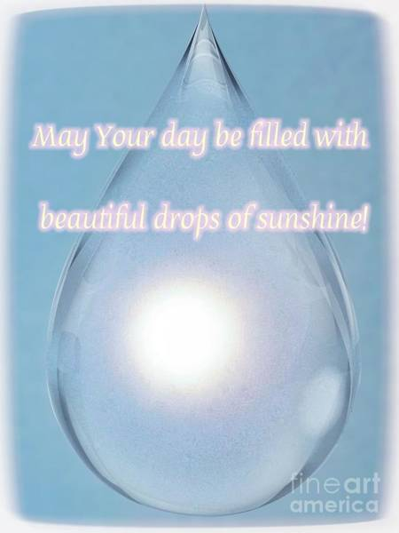 Drops Of Sunshine Poster