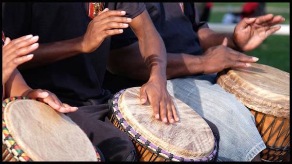 Drum Rhythm Poster