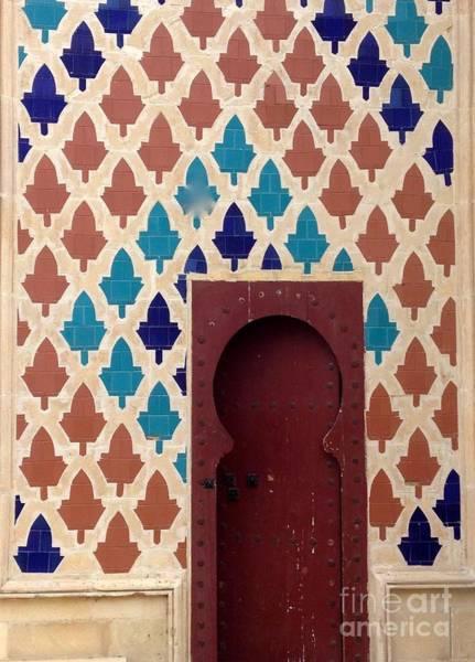 Dubai Doorway Poster