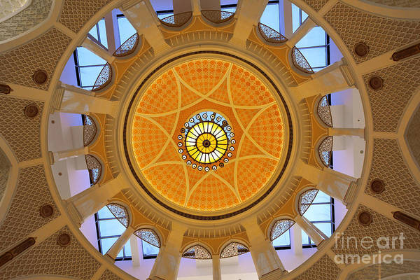 Poster featuring the photograph Dubai Mall Dome  by Juergen Held