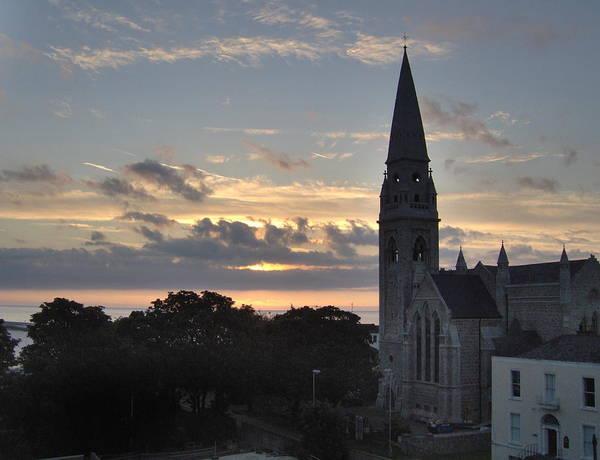 Dublin Sunset Poster