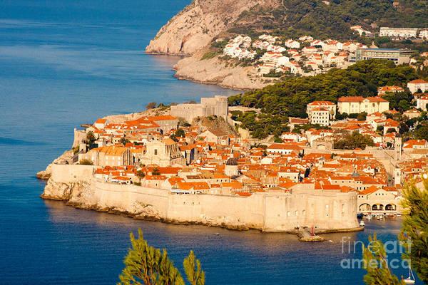 Dubrovnik Old City Poster