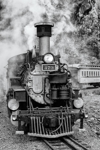 Durango Silverton Train Engine Poster
