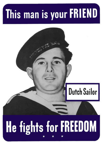 Dutch Sailor This Man Is Your Friend Poster